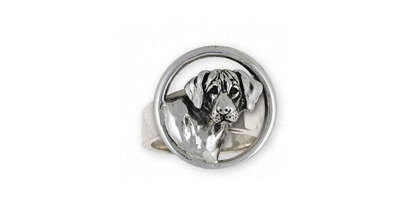 Rhodesian Ridgeback Ring Jewelry Sterling Silver Handmade Dog Ring RDG3-R