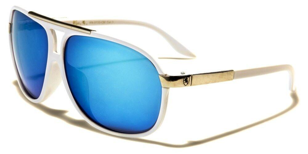 White Aviator 80's Sun Glasses