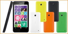 Nokia Lumia 630 Windows Phone 8 in 5 Farben