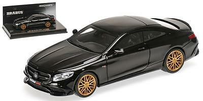2015 Brabus 850 Mercedes-Benz S 63 AMG S-Class Coupe by Minichamps  437034220