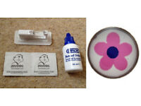 studex system 75 ear piercing kits single earring prep wipes aftercare caflon solution