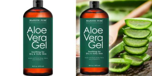 Majestic Pure Aloe Vera Gel, From 100% Pure and Natural Orga