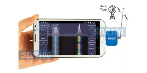 Premium Android-Based RTL-SDR DAB DVB-T Radio Tuner With Mini Antenna