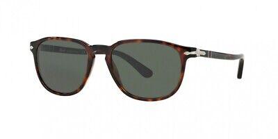 NEW Persol 3019S Sunglasses 24/31 Havana 100% (Persol Men's 0po3019s Square Sunglasses)