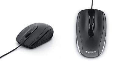 Verbatim Optical Mouse - Wired with USB Accessibility - Mac & PC Compatible... - Mac Compatible Mouse