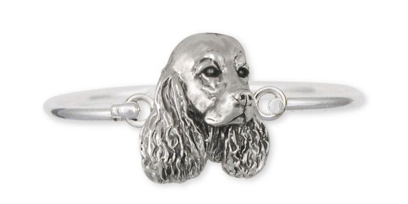 Springer Spaniel Bracelet Jewelry Sterling Silver Handmade Dog Bracelet SS1-HB