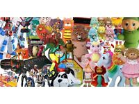 WANTED - 80s & 90s & MODERN BRANDED TOY! INFANT/DISNEY/80s/90s ACTION FIGURES - SOUTH SCOTLAND ONLY