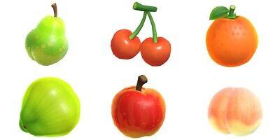 Animal Crossing New Horizons 10 OF EACH FRUIT Apple Peach Pear Orange Cherry 🥥