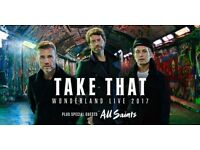 TAKE THAT VIP PACKAGE STANDING TICKETS -FRIDAY 12th MAY