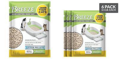 Tidy Cats Breeze Pellets Cat Liter Purina Refill Pack Multiple 3.5 Lbs 6 Packs