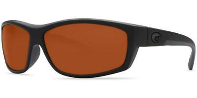 6c40483f6cbcf New Costa Del Mar SaltBreak Polarized Sunglasses 580P Matte Blackout Copper  Wrap