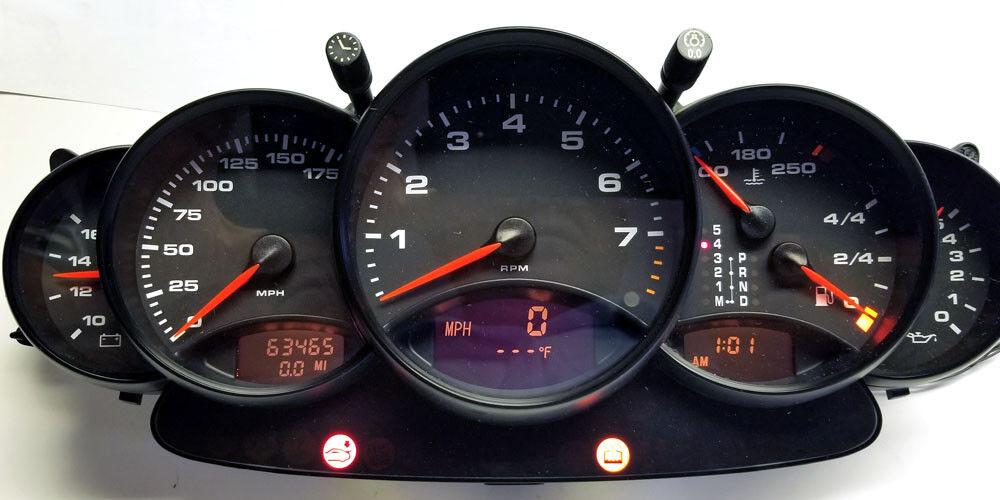 1997 TO 2004 PORSCHE 911,996 INSTRUMENT CLUSTER REPAIR SERVICE $195