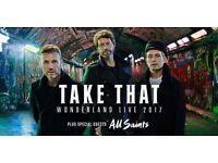 4 x Take That Tickets SECC Glasgow 11th May