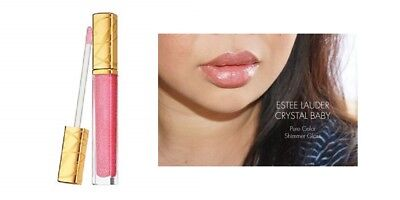 Estee Crystal Lip Gloss - Estee Lauder Pure Color Lip Gloss Crystal Baby Gloss 0.20 oz. New & Unboxed Pink