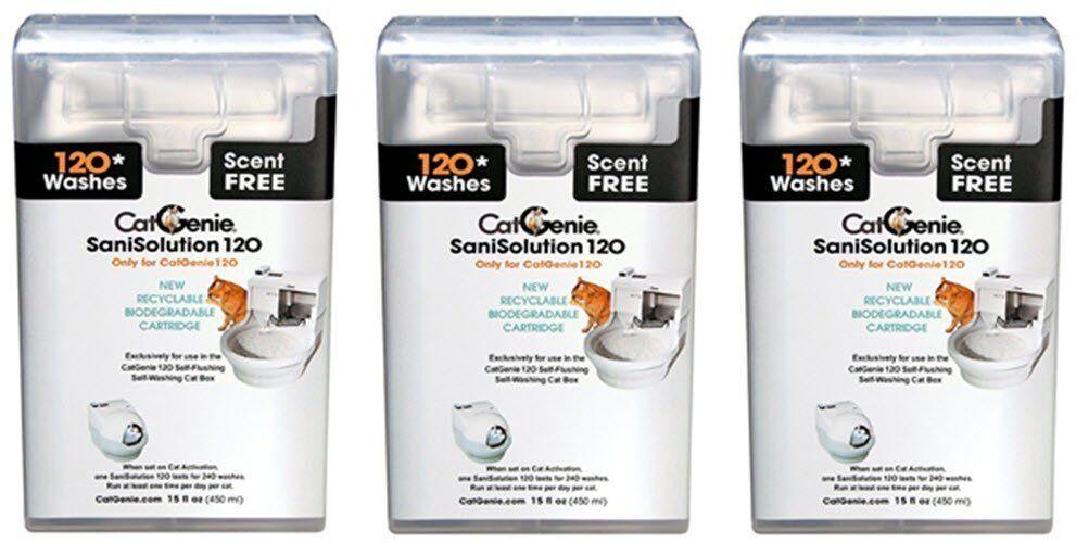 CatGenie 120 SaniSolution SmartCartridge  - FREE SHIP
