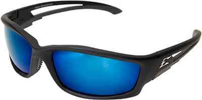 Edge Eyewear Tskap218 Kazbek Polarized Black Frame Aqua Precision Lenses