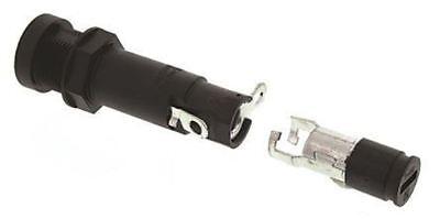 Schurter Feu Series 20a Slotted Cap Panel Mount Fuse Holder For 6.3 X 32mm Fuse