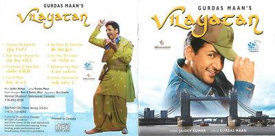 Vilayatan Gurdas Maan's ( Punjabi / Bollywood / India ) Music Audio CD