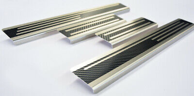 Einstiegsleisten für TOYOTA PROACE 2 PRO ACE VERSO Carbon Silber 3D 160µm