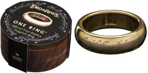 WETA Workshop - Lord Of The Rings LOTR ONE RING  Size 9 Tungsten Ring NIB