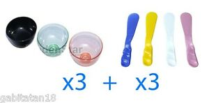 Dental-Lab-3-pcs-Silicone-Flexible-Rubber-Mixing-Bowl-3-pcs-Spatulas