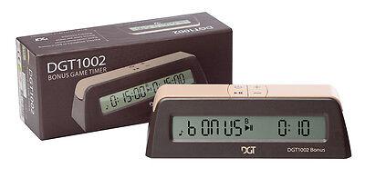 Digital Chess Clock - DGT 1002, BONUS  TIMER - Schachuhr, Orologio per scacchi