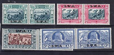 South West Africa Scott B5 B8 Mint Hinged  Catalog Value  122 50