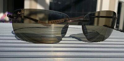 MAUI JIM 724-23 KUMU Sunglasses Shiny Copper/HCL Bronze Polarized Japan