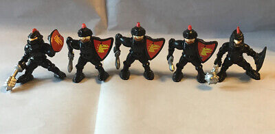 Fisher Price Great Adventures 5 Black Knights 1994