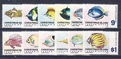 Christmas Island Scott 22-33 Mint NH (Catalog Value $49.90)