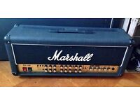 MARSHALL JCM 2000 Triple Super Lead 100 Head + NEW FOOT PEDAL!! N14