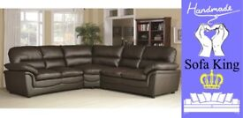 HALF PRICE LEATHER CORNER GROUPS, SOFAS & CHAIRS