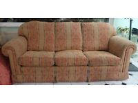 Duresta Waldorf Grand (Large) Sofa and 2 Matching Armchairs 3 Piece Suite