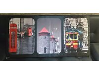 London cushions and canvas picture