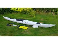 Perception Sealion Fastnet kayak, 5m / 16.5ft, very good condition