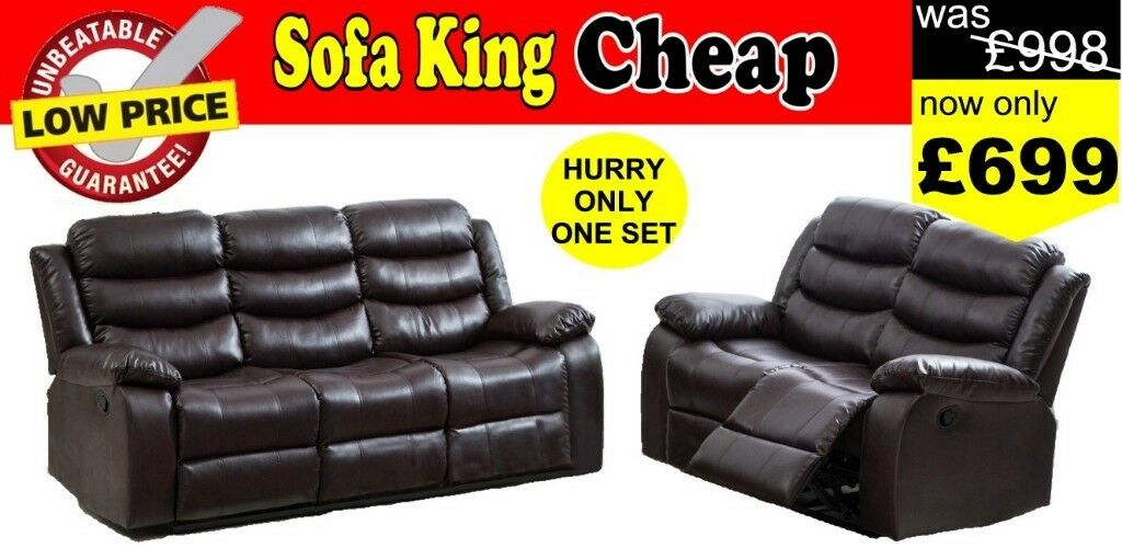 Half Price New Leather Recliner Sofas In Stock Black Brown Grey For Sofa King