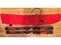 Salomon Xwing 8 160 Skis and 120cm poles