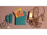 Light Blue Nintendo Wii