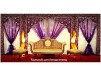 Great Offers on 2017 Bookings. Hurry! Wedding Stage, Mehndi Stage, Chair Covers, Catering
