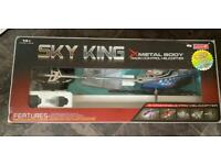 Sky king metal body radio control helicopter