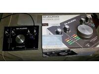 NEW M Track 2x2 Audio Interface