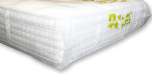 Polythene Plastic Double King Mattress Cover Protector Bag Storage Moving Dust Ebay