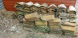 Reclaimed clay pan roof tiles over 300
