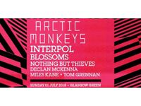 2 x arctic monkeys tickets trnsmt