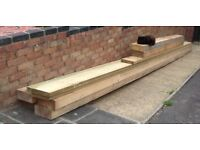 LARGE SLEEPERS AND PLANKS NEW!!