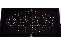 SHOP OPEN BRIGHT LED SIGN FLASHING OR STATIC WHOLESALE SHOP OPEN BRIGHT LED SIGN FLASHING OR STATIC