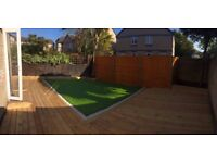 Complete Garden Renovation, Driveway, Patio, Fencing, Turfing, Decking