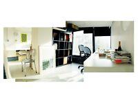 Desks for rent in creative studio on Broadway Market London Fields