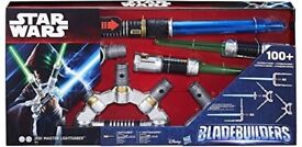 Star Wars Jedi Master Light Saber _ Blade Builder Brand New in Box