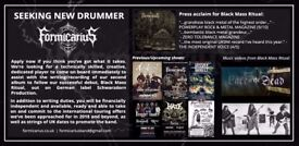 Metal drummer wanted